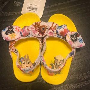 NWT Toddler Disney Bambi Sandals